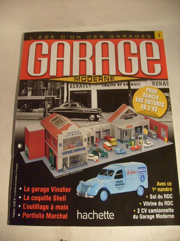 Construiser votre garage moderne hachette septembre 2013 - Collection hachette garage moderne ...
