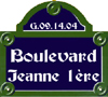 Boulevard Jeanne 1ère