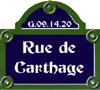 Rue de Carthage