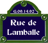 Rue de Lamballe