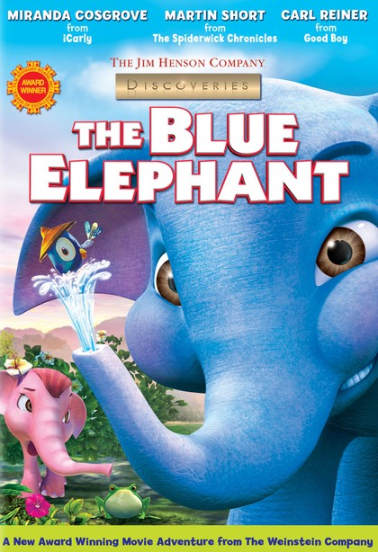 The Blue Elephant affiche