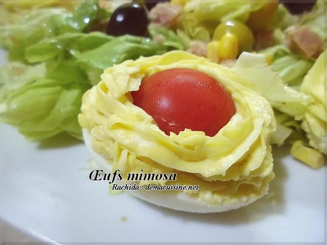 œufs Mimosa Recettes Algeriennes Et D Ailleurs