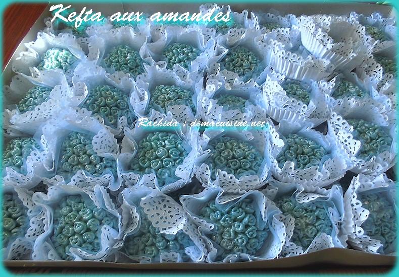 Kefta Algérienne aux amandes. Rachida Gâteaux traditionnels