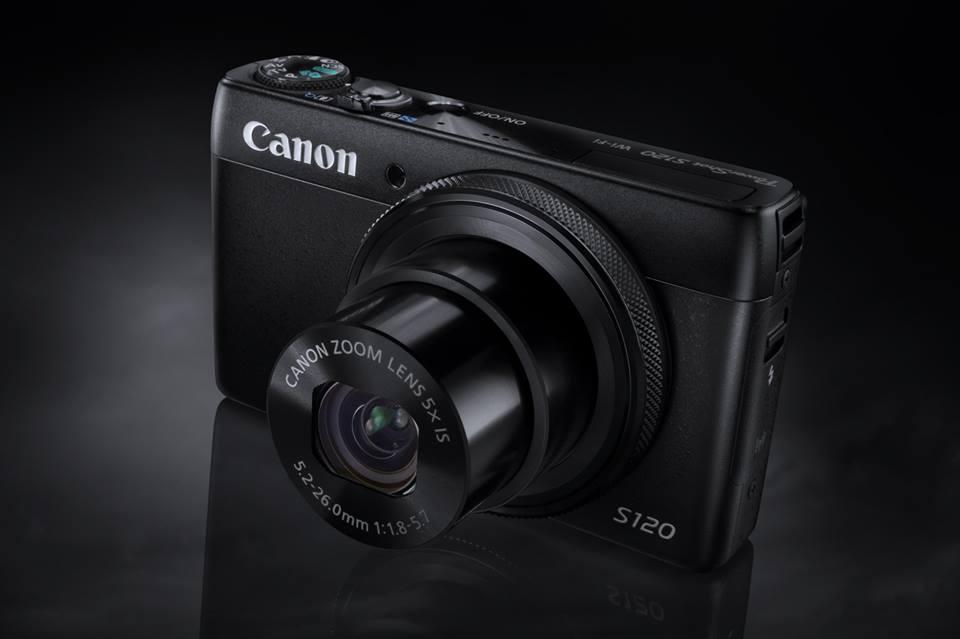 S120 et G16, deux nouveaux compacts PowerShot chez Canon