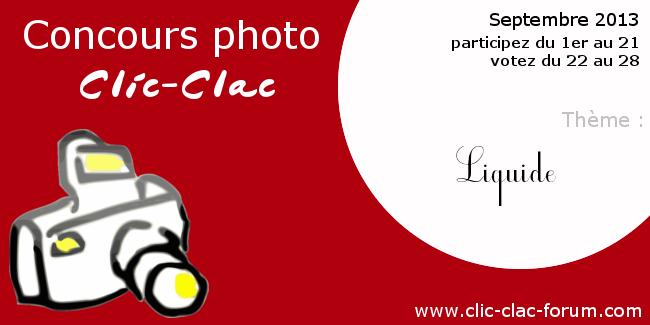Concours photo Clic-Clac