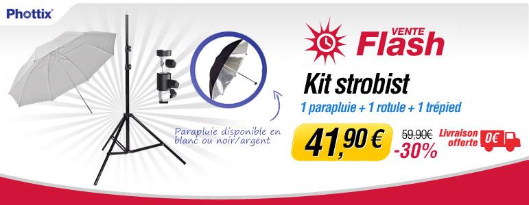 Vente flash Miss Numérique avec -30% sur le kit Phottix pour strobist