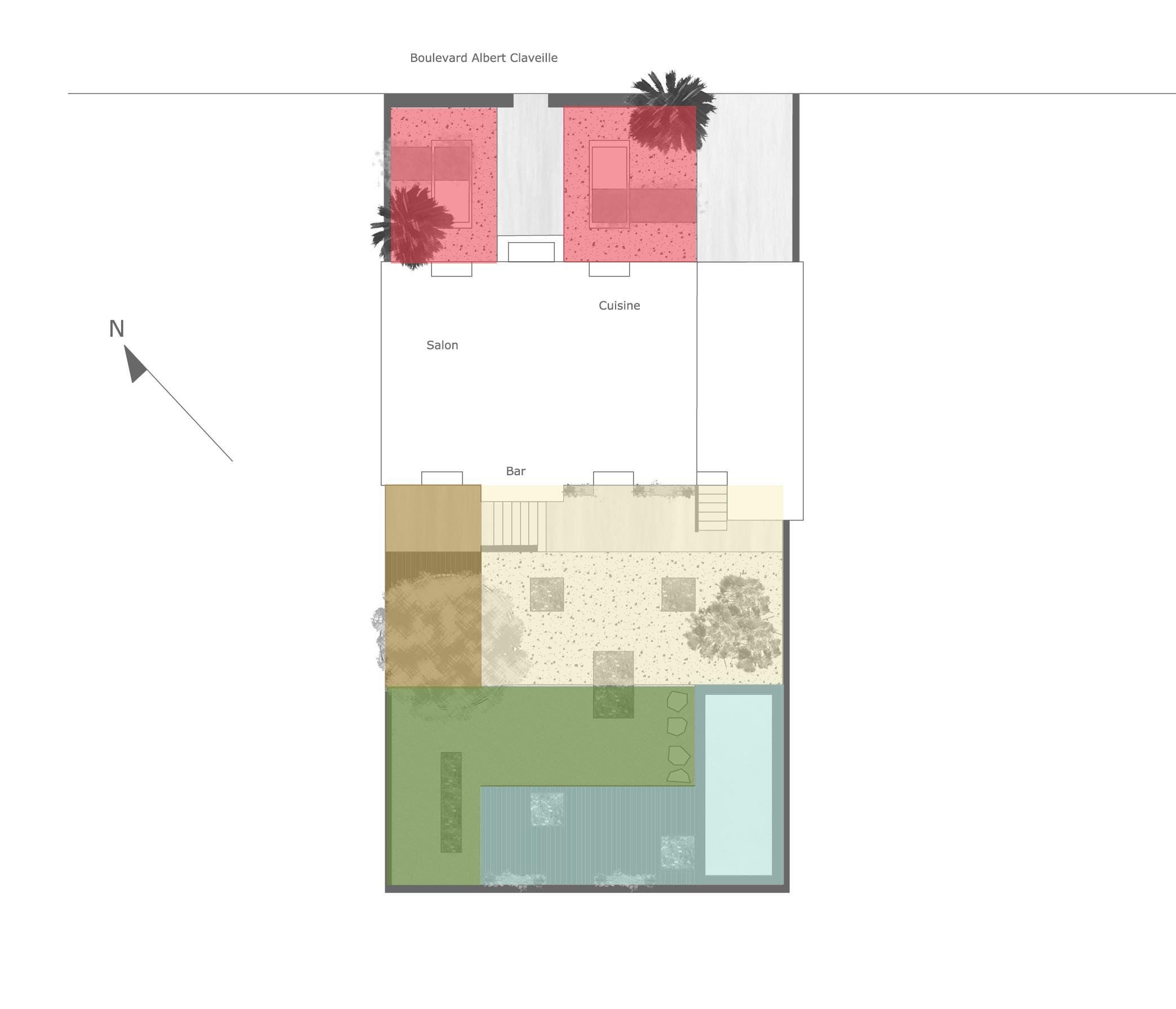 Analyse jardin de particulier p rigueux book de for Jardin 150m2