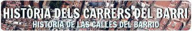 HISTÒRIA DELS CARRERS DEL BARRI