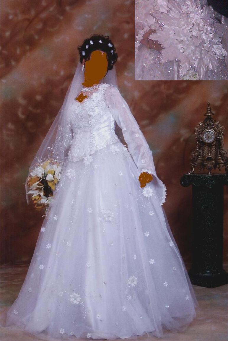 فساتين زفاف آخر جناااااان للمحجبات والمنتقبات