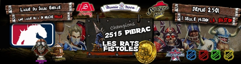 Ligue du Squig Enragé®