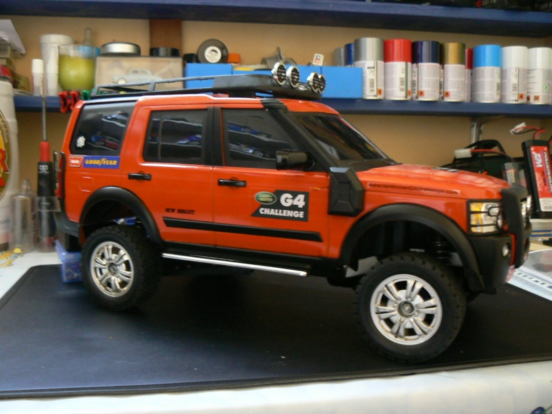 Land Rover Discovery G4 Sur Chassis Xc Projet Vintage Rc