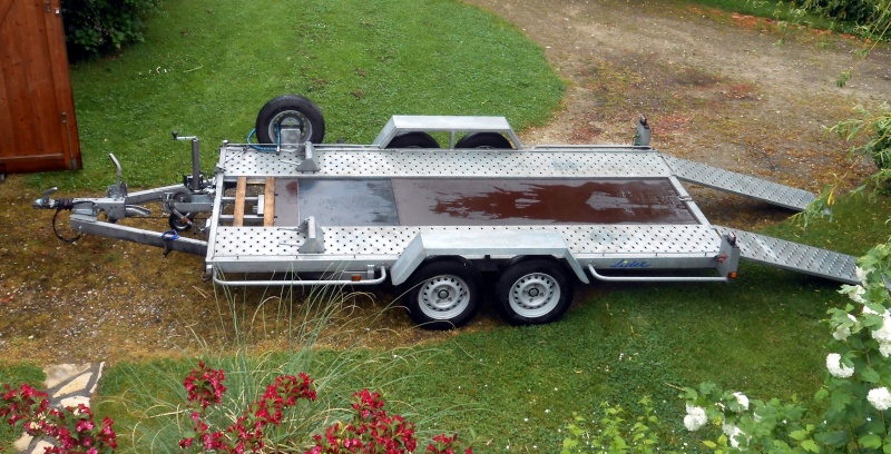 vends plateau porte voiture 2t5 lider. Black Bedroom Furniture Sets. Home Design Ideas