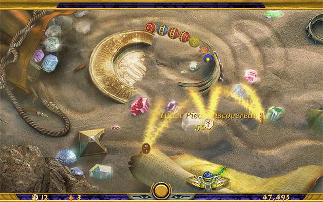 الاصدار الاخير لعبة Luxor بحجم
