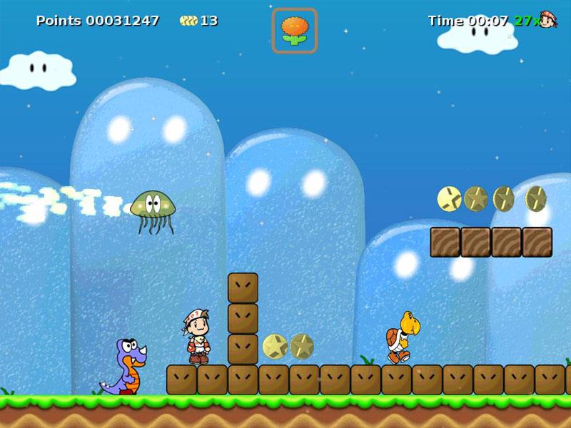لعبة ماريو الاصدار الاخير