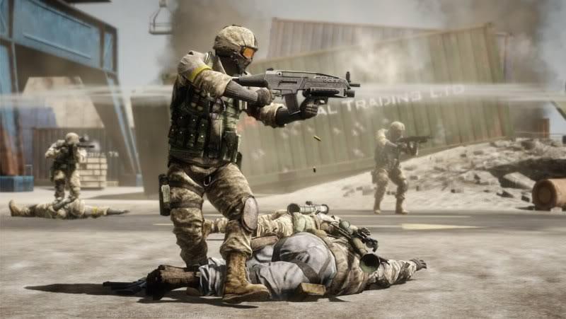 لعبة الاكشن والحروب الرهيبة Battlefield
