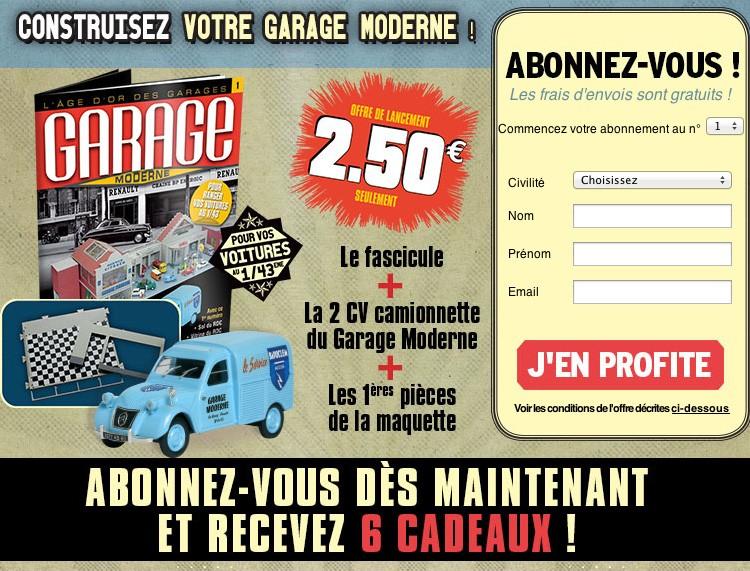 1 43 le garage moderne hachette collection invit - Collection hachette garage moderne ...