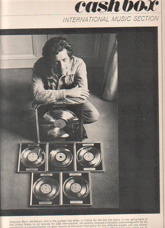 Il sera de 1965 à 1980 l'un des plus grands vendeurs de disques de l'époque