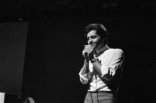 Joe Dassin sur scène