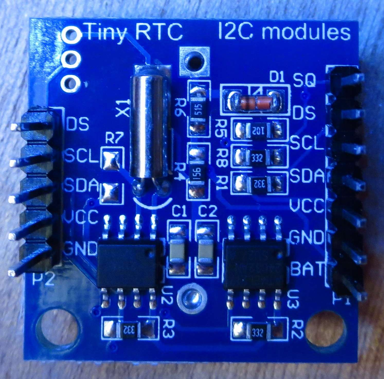 I2c Ds1307 Rtc Clock Weird Problem Aka 2165 165 Output Digital Using 8051 Microcontroller With Here Is A Pic Of The If It Can Help