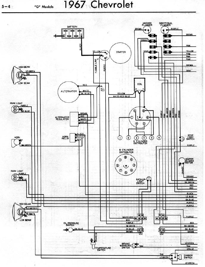 gmc tail light wiring diagram 1960