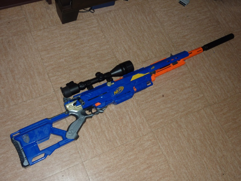long strike cs 6 ii nerf project sniperland