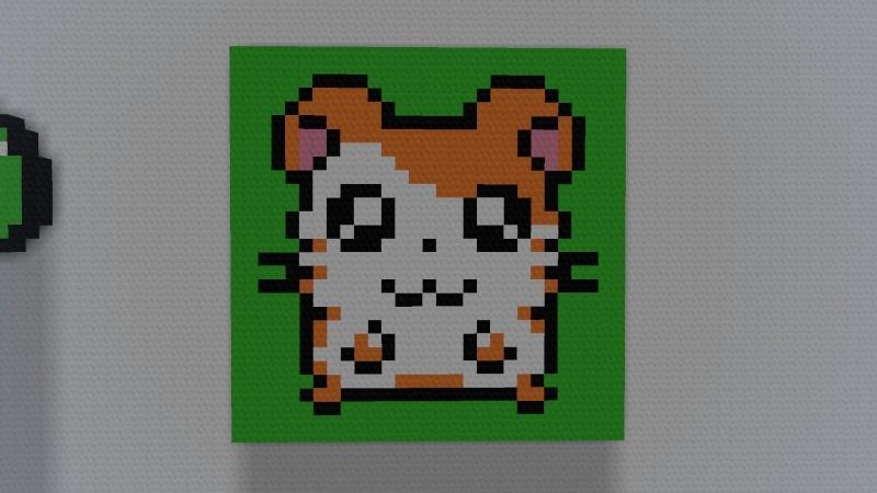pixel art petit