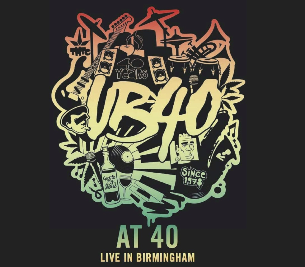 UB40 - UB40 at 40 (Live in Birmingham) (2021)