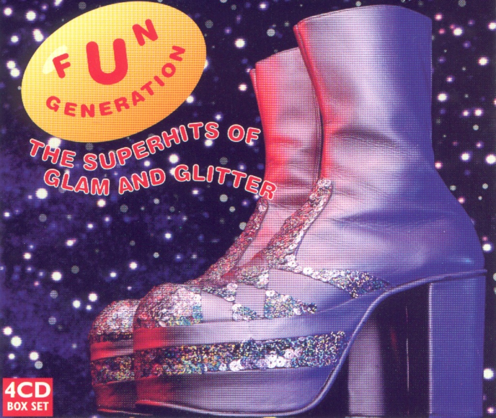The Superhits Of Glam & Glitter (4 Cds) 1999