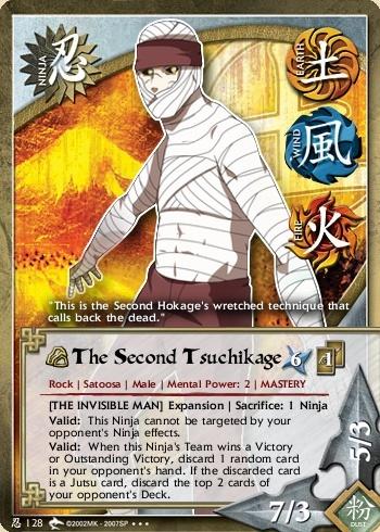 The Second TsuchikageYondaime Tsuchikage