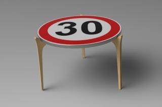 R alisation table de nuit - Table basse panneau signalisation ...