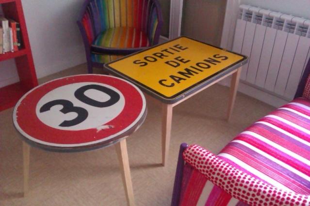 table basse panneau signalisation sammlung von design zeichnungen als