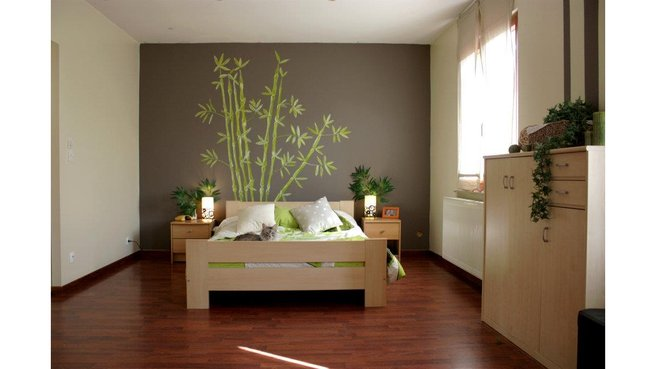 chambre mauve et beige solutions pour la d coration. Black Bedroom Furniture Sets. Home Design Ideas