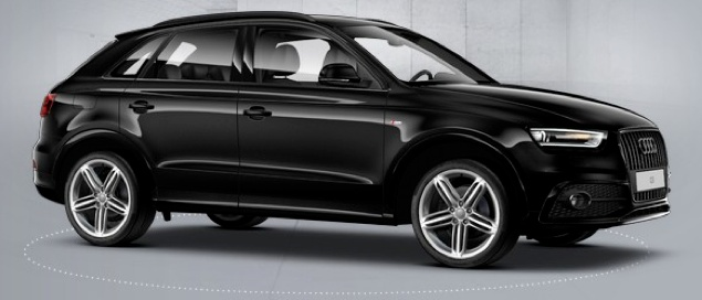 en commande audi q3 sport design tdi 177cv noire. Black Bedroom Furniture Sets. Home Design Ideas