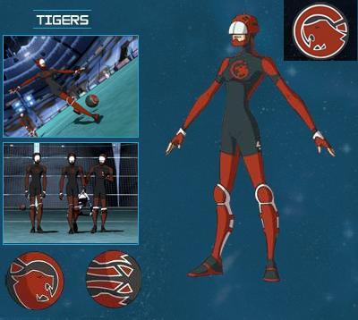 Les tigres rouges - Equipe galactik football ...