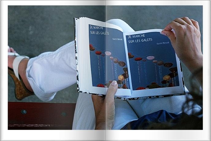 KARIM NOVAK Je marche sur les galets from karimnovak.cultureforum.net