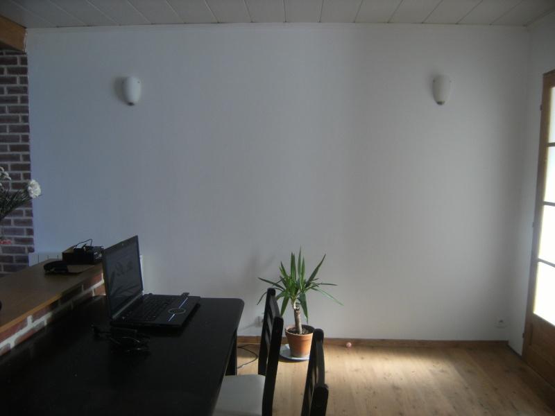 Petit salon - Salon peint en gris ...