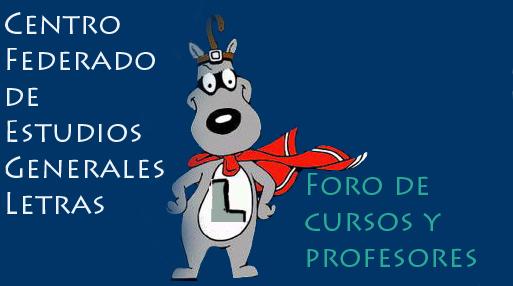 Profesor y Cursos de EE.GG.LL
