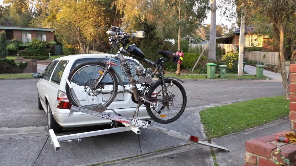 boot bike rack instructions