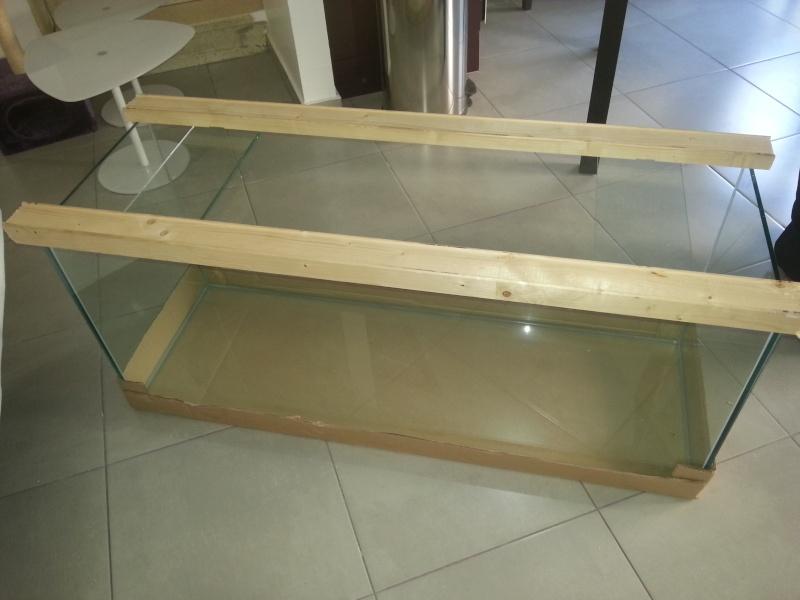 Pr sentation de mon ensemble aquarium meuble l 39 igorarium for Aquarium cadre