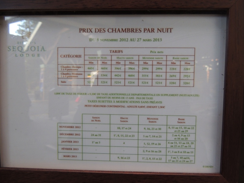 H tel disney disney 39 s sequoia lodge for Comparateur hotel paris prix