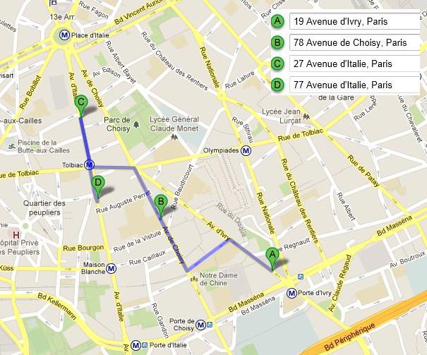 1918 adresses des bureaux de paris for Bureau de change paris 13 avenue d ivry