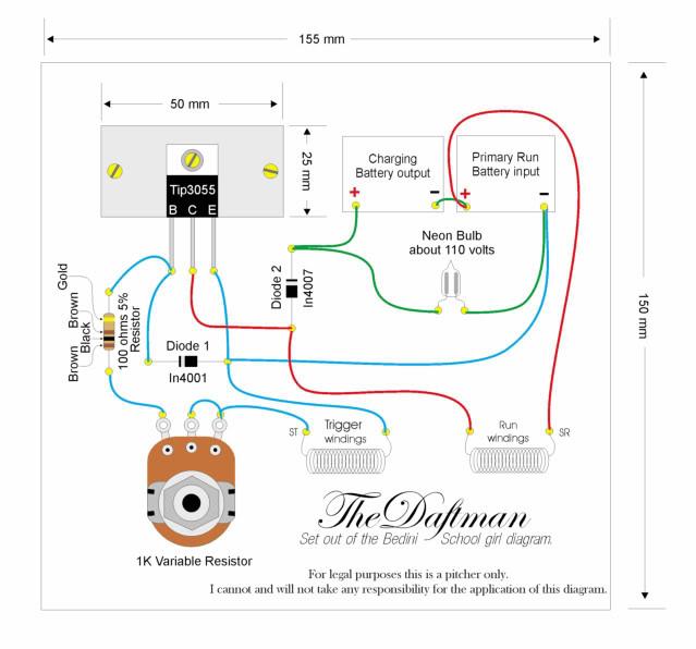 Circuito Motor Bedini : Generador quot bedini con ventilador de pc ingeniería y