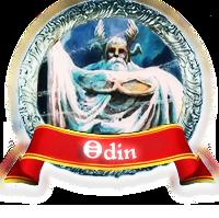 Odin . Deus de Asgard
