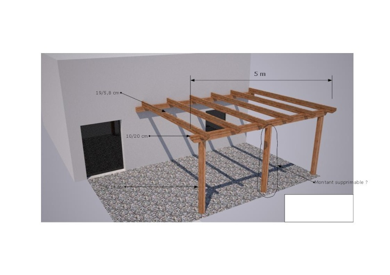 Question structure pergolas bois Faire une pergola en bois