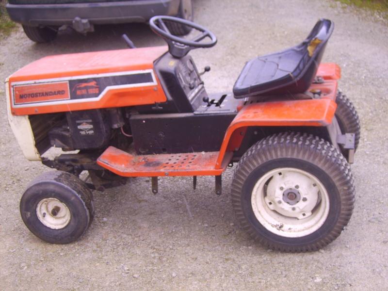 tracteur tondeuse motostandard mini 1500. Black Bedroom Furniture Sets. Home Design Ideas