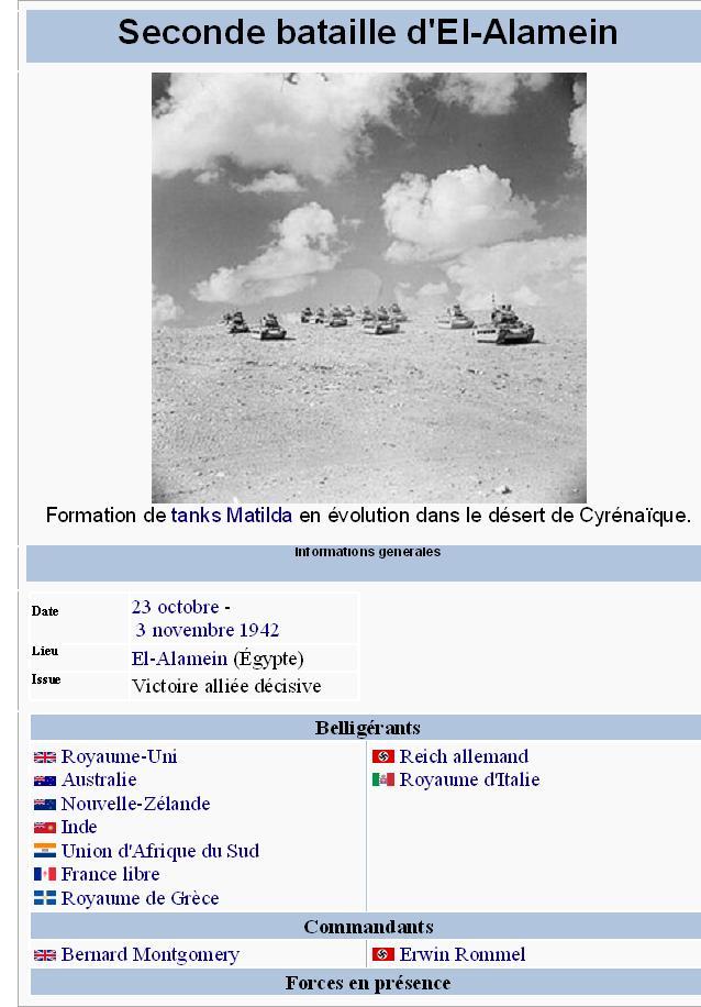 La seconde bataille d'El-Alamein alamei11