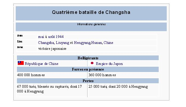 La Quatrième bataille de Changsha changc10