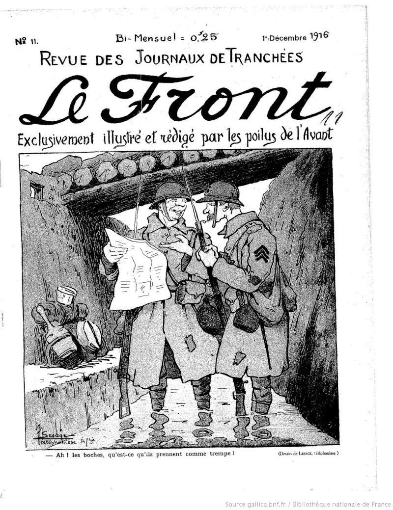 Le Front. Exclusivement illustré et rédigé par les poilus de l'avant  f1_111