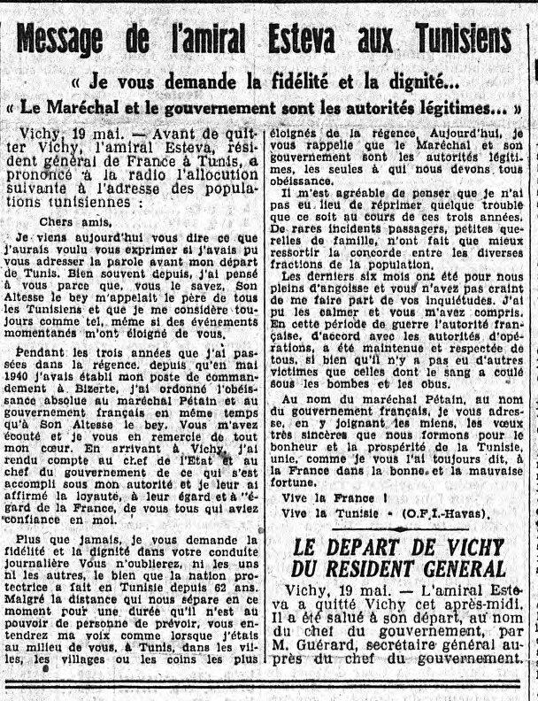 Message de l'amiral Esteva aux Tunisiens ! messag10