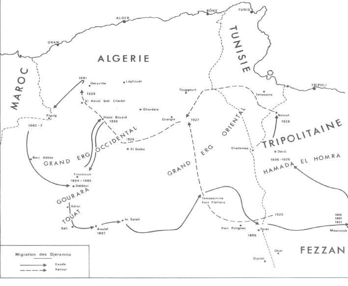 L'Algérie en 1881 - au gré de l'incursion française  migrat10